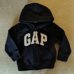 Toddler Gap zip up hoodie.